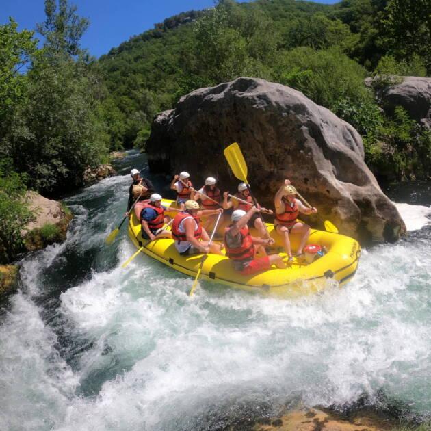 Cetina Rafting in Croatia with CroActive!